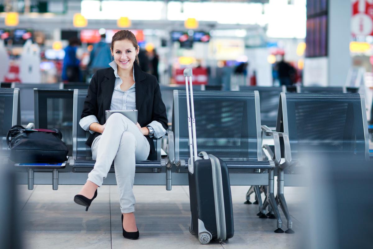 Pierwszy lot samolotem – przyjazd na lotnisko i odprawa