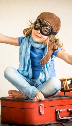 Podróżowanie samolotem z dzieckiem