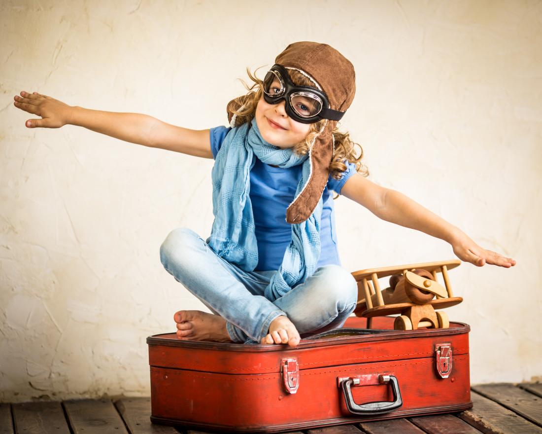 Lot samolotem z dzieckiem