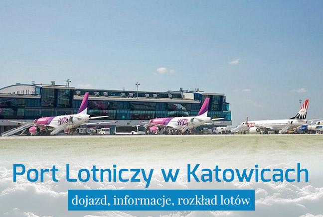 Port Lotniczy Katowice – dojazd i informacje praktyczne